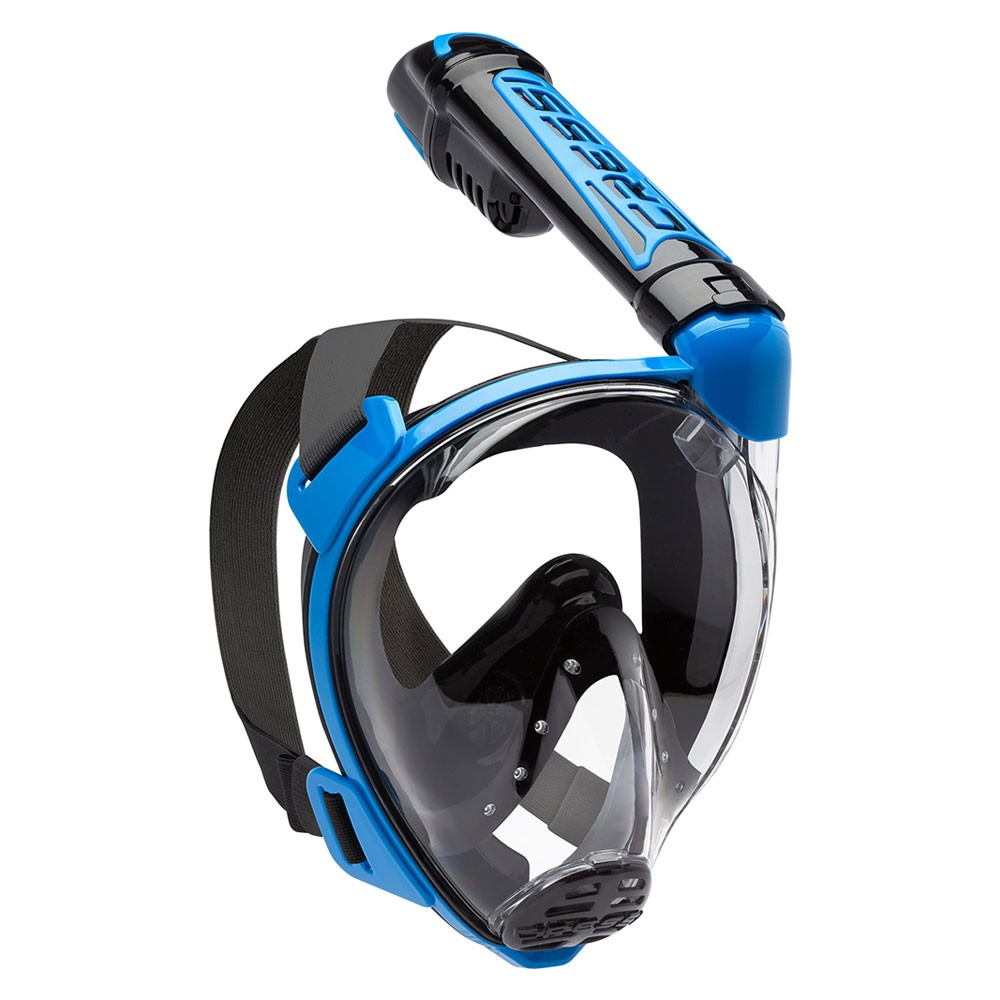 Μάσκα DUKE FULL FACE BLACK/ BLUE της CRESSI image